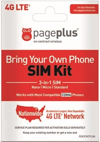 BYOP 3-in-1 SIM Activation Kit | Page Plus Cellular